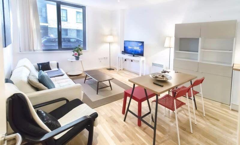 Modern 2 bedroom apartment in Kings Cross