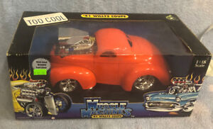 Die-Cast Cars by Muscle Machines   1941 Willys,   1957 Chevy
