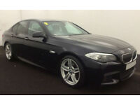2011 BMW 530D 3.0 M-SPORT GOOD / BAD CREDIT CAR FINANCE AVAILABLE