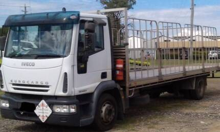 Iveco ML120, 14 pallet tray back with 1.8m gates