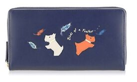 RADLEY PURSE - BIRDS OF A FEATHER LARGE ZIP AROUND MATINEE (Brand new and original packaging)