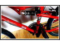 ***Apollo FS 26 mountain bike is very good condition *** just 50 pounds !