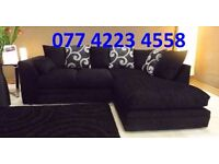 NEW ZINA Luxury Corner Sofa As In Pic Left Or Right Chaise FREE DELIVERY
