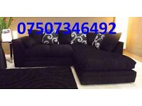 BRAND NEW ZINA luxury corner sofa left or right chaise