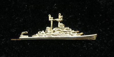 USS Newport News CA-148 HEAVY CRUISER LAPEL HAT PIN UP US NAVY VETERAN GIFT WOW