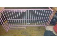 Girls Pink Toddler Bed