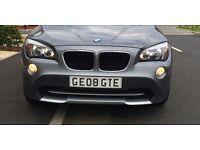 GE08 GTE number plate (GEORGIE)