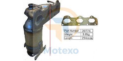 Exhaust Catalytic Converter SKODA FABIA 1.2 BZG 1/2007 - / EURO 4
