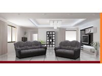 PAY WEEKLY/ MONTHLY TEXAS CORNER OR 3+2 SEATER SOFA LEATHER OR FABRIC £23 PER WEEK
