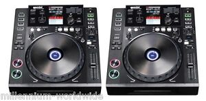 NEW - (2) GEMINI CDJ 700 - PRO MEDIA PLAYER - TWIN DJ SET - CD / USB / SD / MIDI