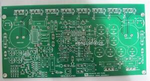 2 channle bare PCB One pair Power amplifier board PCB base on GOLDMUND M9.2