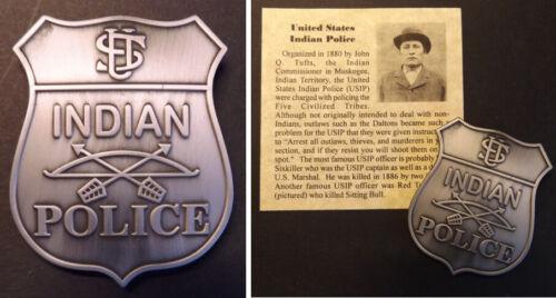 United States Indian Police Badge, old west, western, U.S., USIP
