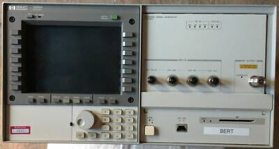 Hewlett-packard Agilent 70004a Mainframe And 70340a Signal Generator 1 To 20 G