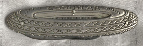 Goodyear All Weather Balloon Tire Pocket Knife Vintage