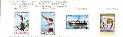 Barbados 1967 Harbour Police set MH