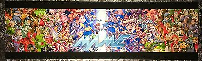 """Mame New Age Arcade Marquee 26""""x8"""""""