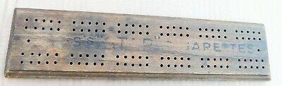 Vintage Wills Star Cigarettes Crib board. Games.