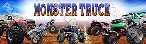 Monster Truck Poster Banner 30