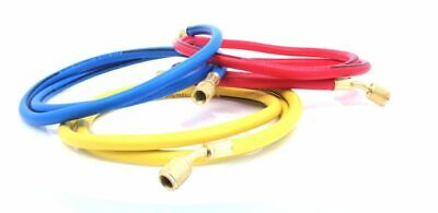High Pressure Hoses Set For Air Conditioning Freon Service 1500mm Long 2500 PSI