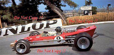 Graham Hill Gold Leaf Team Lotus 49B Winner Monaco Grand Prix 1968 Photograph 17