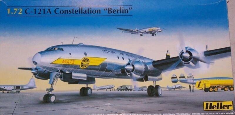 """(HEL80382) - Heller 1:72  - Lockheed C-121A Constellation """"Berlin"""""""