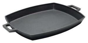 New  Bayou Classic 7471, 12 x 14-in Cast Iron Shallow Baking Pan Condition: New