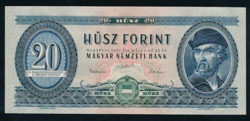 Hungary 20 forint 1957 UNC