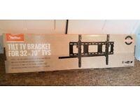 "Brand new 32"" to 70"" Tilting TV wall mount bracket"