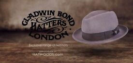 Felt fedora hats for men on hatwoods
