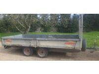 Batson 12 x 6 drop side trailer