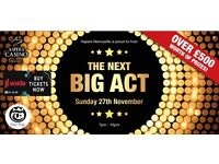 Over 18 Talent competition with prizes worth over £500