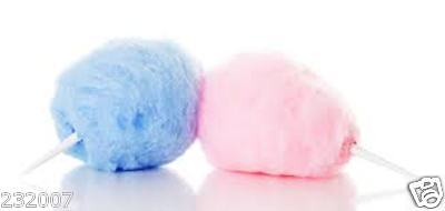 1.5 KILO Pink and Blue Candy Floss Sugar with Free Sticks !!!!