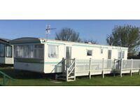 6 berth 2 bed caravan,ingoldmells,skegness,DOG FRIENDLY,sat-sat 28-4th aug £300!!,quiet site
