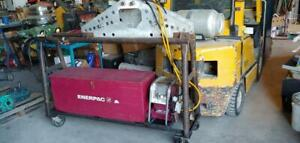 Enerpac 30 Ton Pipe Bender with multiple size shoes 1-4