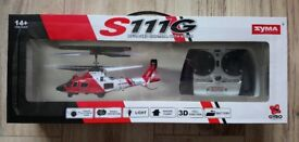 Syma S111G RC Helicopter - New, Sealed