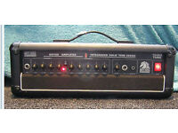 White Horse Guitar T64RS Solo Tube Series 60 watt Amplifier top