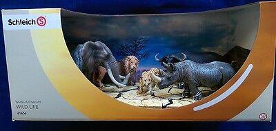 SCHLEICH WILD LIFE ~ THE BIG FIVE ~ AFRICA SET~ Elefant, Nashorn, Löwe u. a.