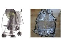 New unused buggy raincover