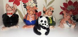 Wade Natwest Pigs and Panda