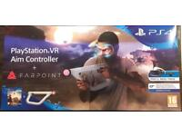 PS VR Aim Controller + FARPOINT Game bundle *Brand New*