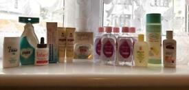 Baby toiletries for the and body lotion mommy.