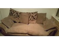 PRICE DROP!! Two&three seater sofa