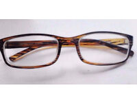 New Modern Brown Glasses Frame Suitable for Prescription Lenses.
