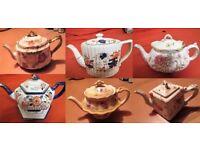 Teapots Victorian/Edwardian