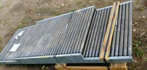 15 Ft Long x 38 Wide Roller Conveyor - New Condition