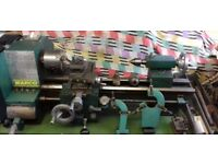 Warco Metal Wood Work Lathe with Accessories