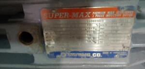 Tatung Super-Max High Efficiency, 60 HP, 3 Phase, 575 Volts, 1750 RPM Electric Motor