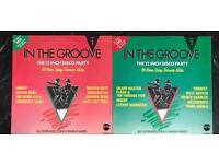 2 x in the groove vinyl albums