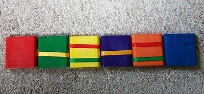 Jacob's Ladder Oriental Trading Tilt Puzzle Twist Block Toy Multi color Wood - Jacob's Ladder Toy