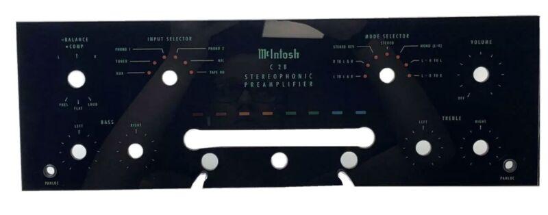 mcintosh C-28 New Front Panel